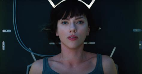 Scarlett Johansson Anime Movie Watch Two New Tv Spots For Ghost In The Shell Starring