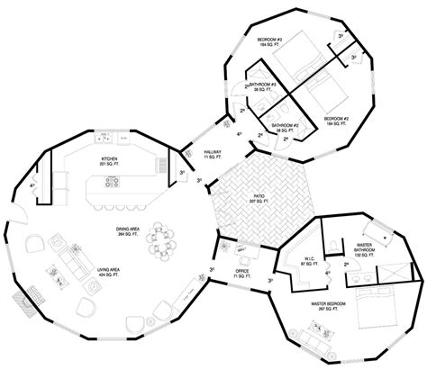 round house floor plan round house with courtyard houses pinterest round