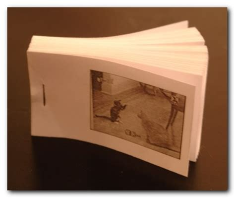How To Make A Flipbook With Paper - flipbook printer