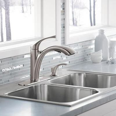 kitchen sinks and faucets kitchen faucets quality brands best value the home depot