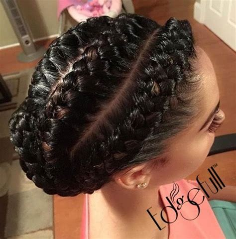 black cornrow hairstyles that cover edges shop edgefull com have beautiful natural hair but thinning