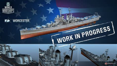 new usa new us cruiser line gameplay world of warships