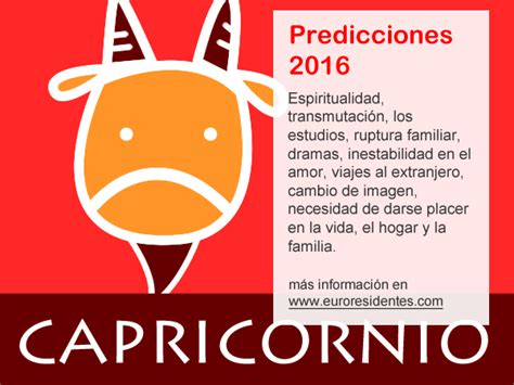 el horoscopo 2016 horscopos in hor 243 scopo capricornio 2016