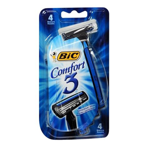 Buy Bic Comfort 3 Advance Shavers For Men With Sensitive Skin