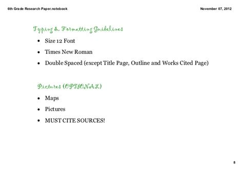 sle 6th grade research paper 6th grade research paper introduction