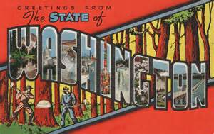 greetings from the state of washington postcard roundup