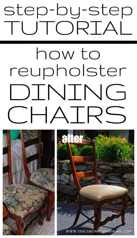 How To Recover A Dining Room Chair by 17 Best Images About Diy Reupholstering On