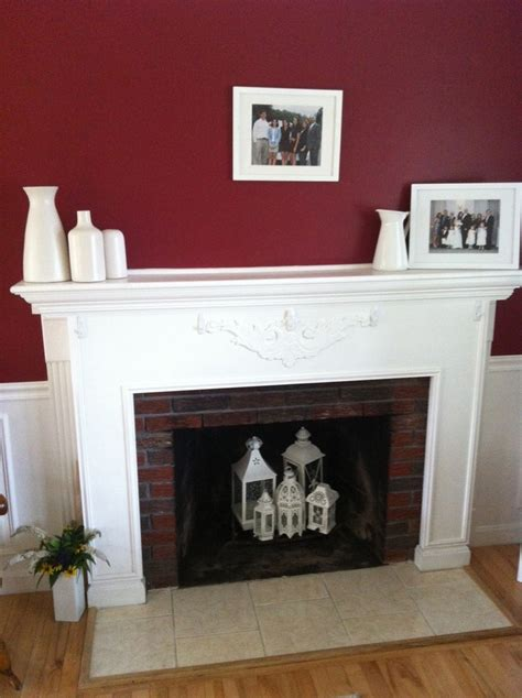 Summer Fireplace Lanterns For The Home Pinterest