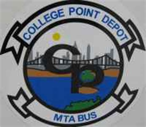 city of new york and mta college point depot images