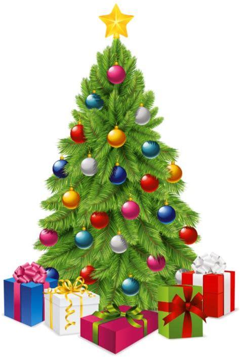 transparent christmas tree clipart clipartxtras