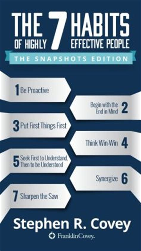 7 Of My Favorite Study Habits And Helpers by The 7 Habits Of Highly Effective The Snapshots