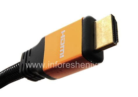 Kabel Hdmi Untuk Blackberry Z10 Q10 Z30 Playbook hdmi cable v 1 4 1 8m to everything for