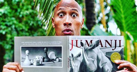 dwayne the rock johnson update dwayne johnson updates jumanji remake cosmic book news