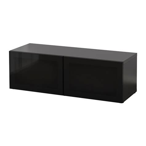 ikea besta shelf unit with doors best 197 shelf unit with glass doors black brown glassvik