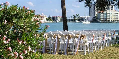 clearwater rec center wedding brown coral seaside rustic clearwater wedding