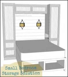bedroom built storage