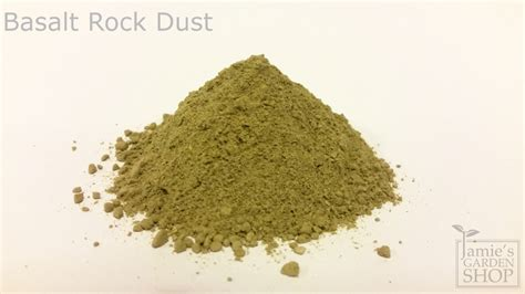 Rock Dust Gardening Basalt Rock Dust 1 Kg