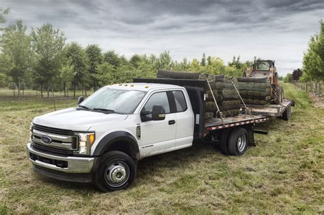 truck ford ford reveals super duty chassis cab ratings at ntea work