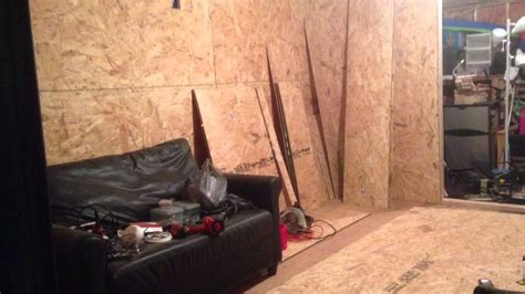 turn your storage shed into a cave cheap