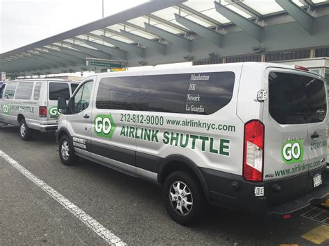 car ride to airport newark airport shuttle go airlink nyc