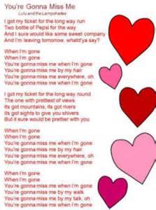 You re gonna miss me lyrics