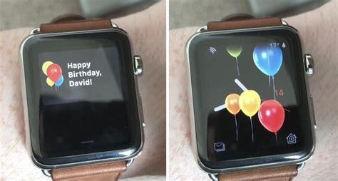 apple rumors apple watch celebrates your birthday with a special