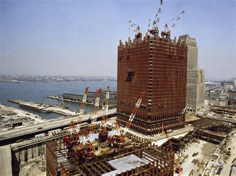 world construction world trade center pictures before during and after 9 11