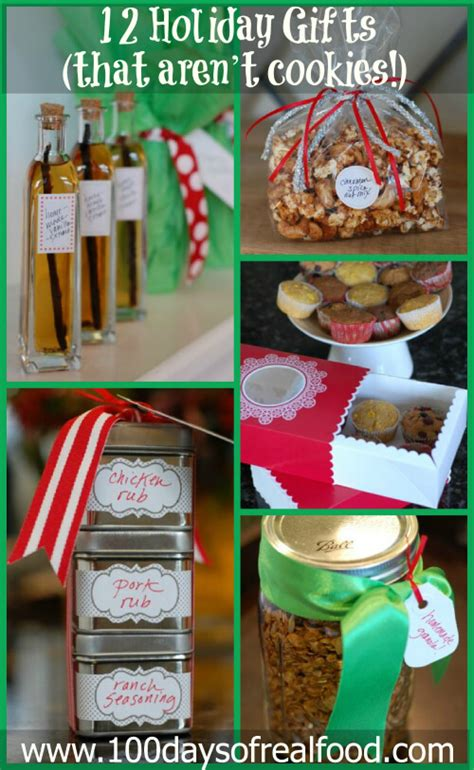 pinterest christmas food gifts real food tips 12 gifts that aren t cookies 187 100 days of real food