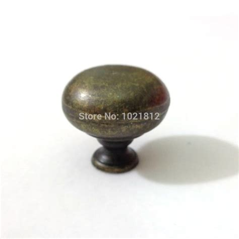 hollow 31mm bronze cabinet knobs handles pulls cupboard