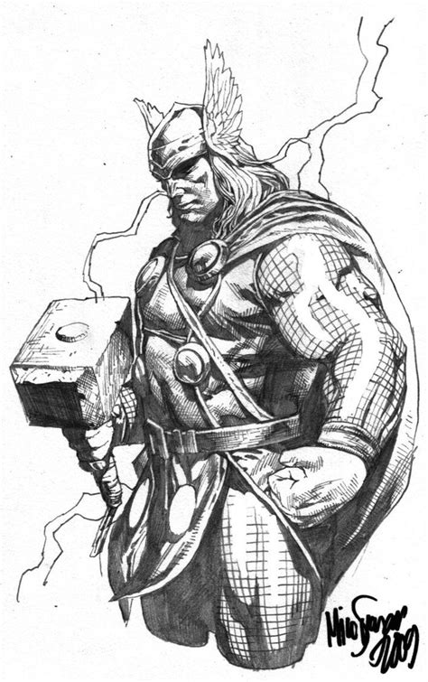 thor tattoo designs thor sketch 2 by micosuayan comics thor