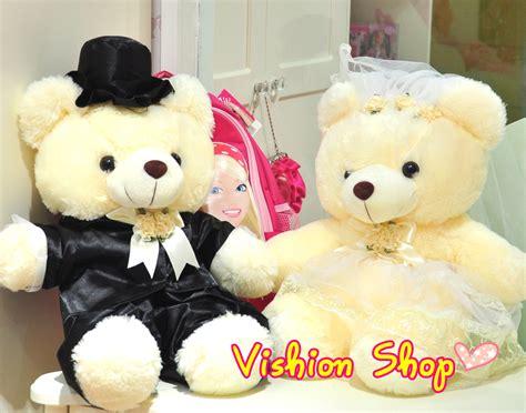 Teddies Murah Linger Va0203 Limited boneka wisuda murah wedding doll