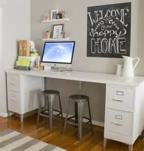 desk with file cabinets built in best 25 file cabinet desk ideas only on