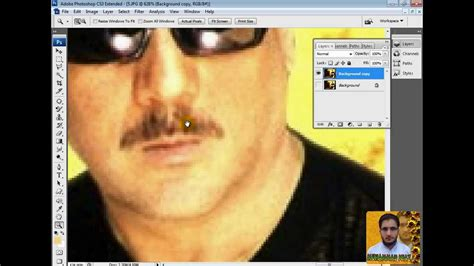 adobe photoshop cs3 tutorial in hindi how to clean moustache in adobe photoshop cs3 in urdu and