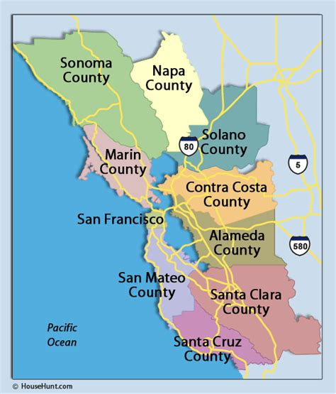 san francisco county map service area journey