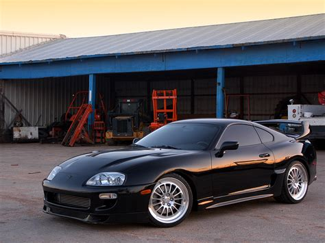 fast and furious black car nasty supra cliche it was in fast and furious but it is a