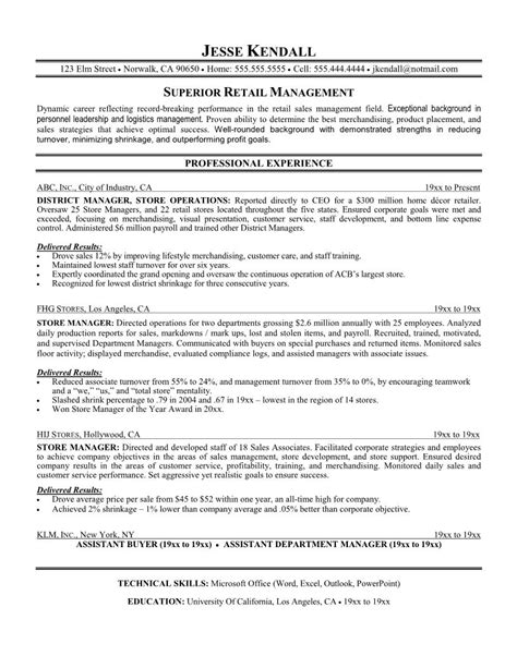 Resume Exles Store Manager Retail Exles Of Resumes Best Resume Exle 2017 Intended For 85 Inspiring Domainlives