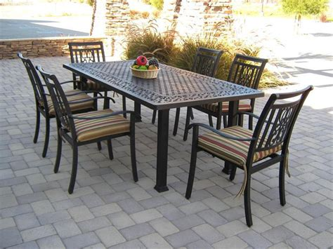 black rectangular patio dining table 9 rectangular patio dining table that will impress your guests