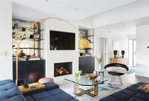 floor l living room a bachelor embraces color and quirk in the hollywood hills