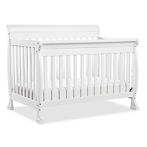 Davinci Kalani Convertible Crib White Davinci Kalani 4 In 1 Convertible Crib In White Bed Bath Beyond