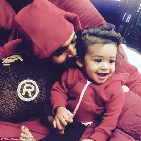 chris brown shares cute video of his baby daughter royalty