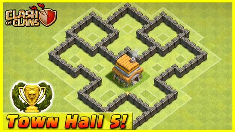 clash of clans layout strategy level 5 clash of clans defense strategy townhall level 5
