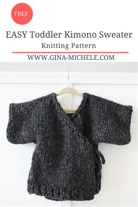 easy knit sweater pattern toddler easy toddler kimono sweater free knitting pattern