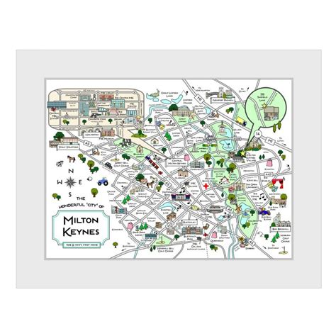invitation printing milton keynes personalised milton keynes map maps