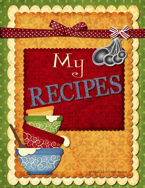 my sweet kitchen recipes 1611803063 recipe book dividers pink polka dot creations