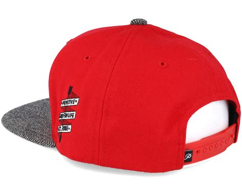 classic red classic p red snapback primitive apparel start
