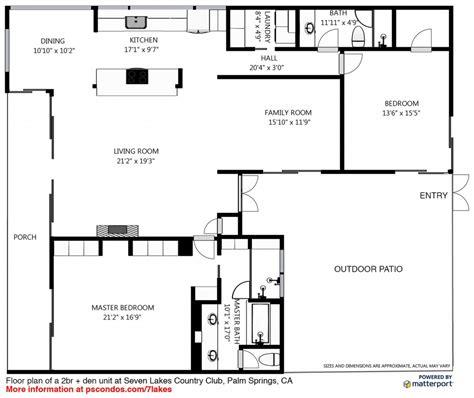 springs floor plans mid century modern palm springs real estate condos