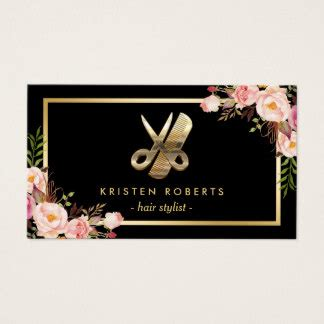 eye catching business cards templates hair stylist business cards 3000 hair stylist business