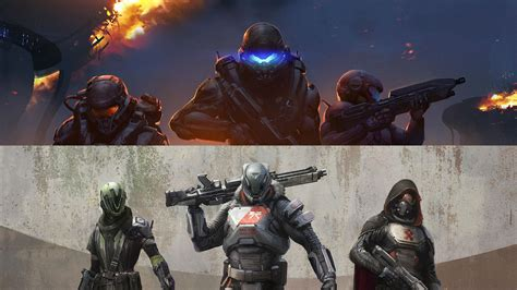 game guardian v 6 0 5 destiny vs halo 5 and how bungie s new shooter has