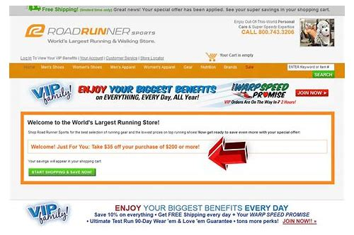 roadrunner running store coupons