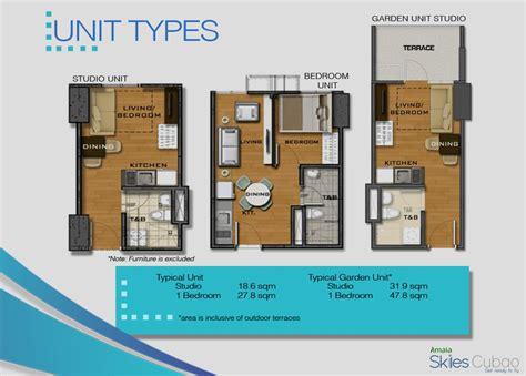 Emergency Room Floor Plan Amaia Skies Cubao Offers Studio 1 Bedroom And 2 Bedroom